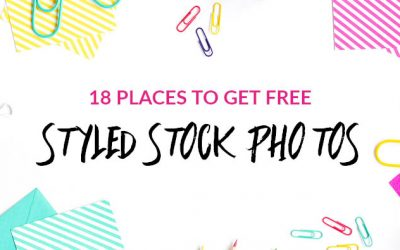 18 Places to Get FREE Styled Stock Photos for Female Entrepreneurs – UPDATED