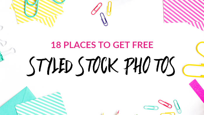 18 Places to Get FREE Styled Stock Photos for Female Entrepreneurs