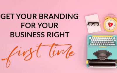 Get your brand design for your business right first time