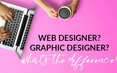 Web designer? Graphic designer? What's the difference?