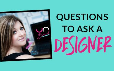 What questions I should ask my graphic designer?