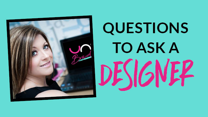 What questions I should ask my graphic designer