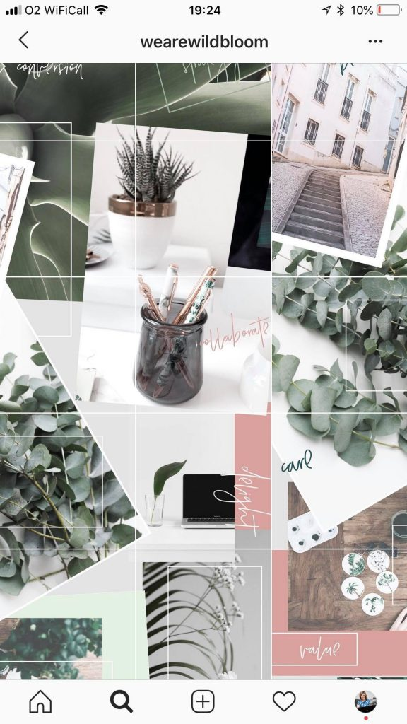 14 Pretty Instagram Feed Ideas For Female Entrepreneurs To Captivate Your Customers Vicki Nicolson Brand Strategist Stylist Branding Strategy Graphic Design Services For Business Owners