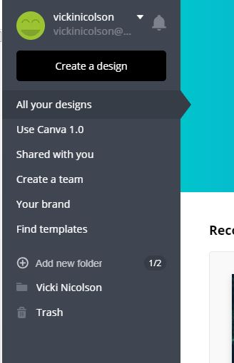 Switch back to Canva 1.0