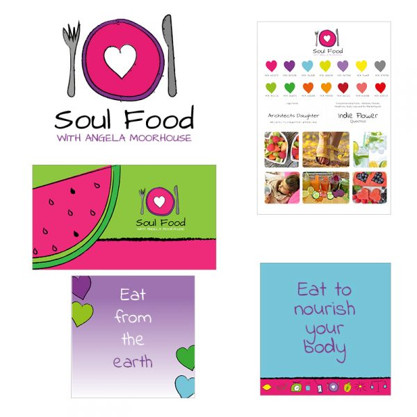 Health Coach Small Business Logo