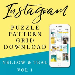 Instagram Puzzle Grid