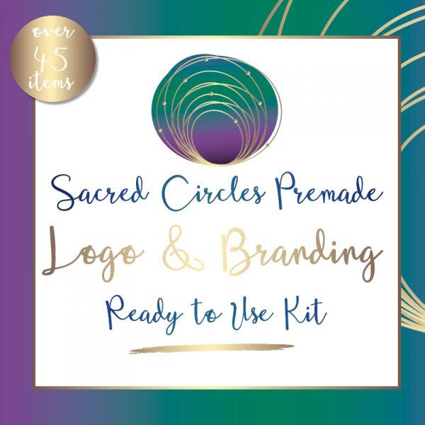 Sacred Circles Logo Kit