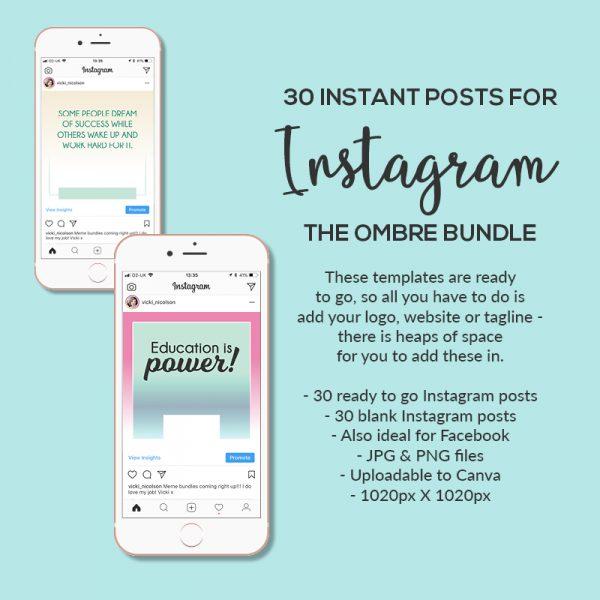Social Media Posts Bundle Ideas