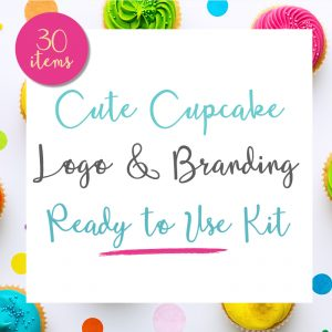 Cupcake Logo and Branding