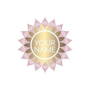 Mandala Style Logo