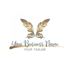 Gold Small Business Logo