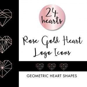 Geometric Heart Logo