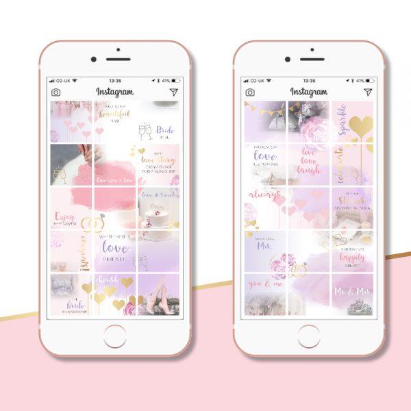 Instagram Post Ideas for Wedding