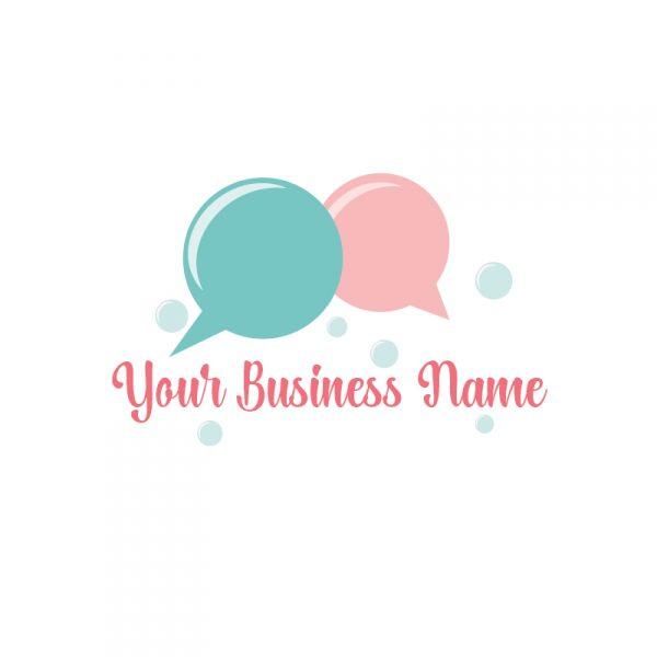 Speech Bubbles Logo