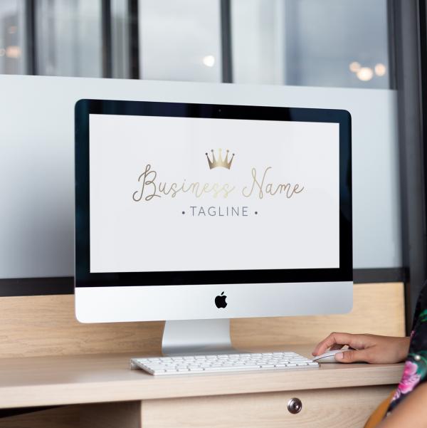 Gold Crown Entrepreneur Logo