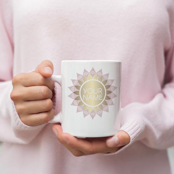 Mandala Lotus Logo Design
