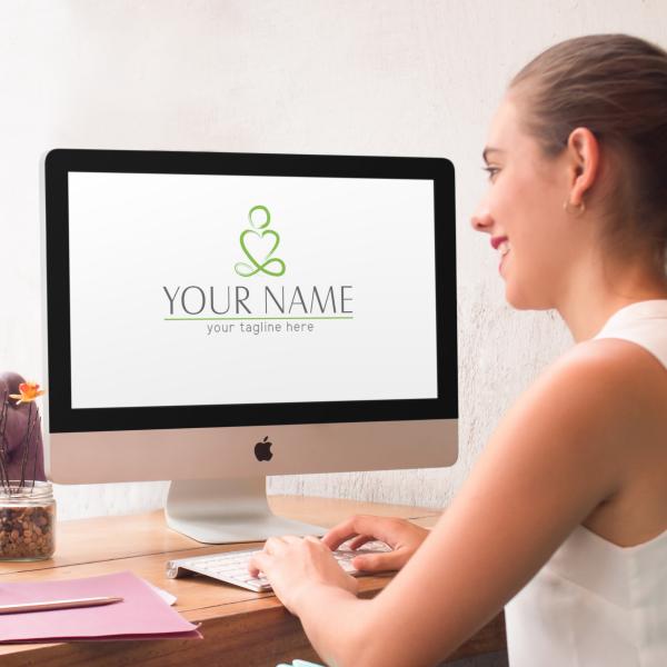Small Business Logo Yoga