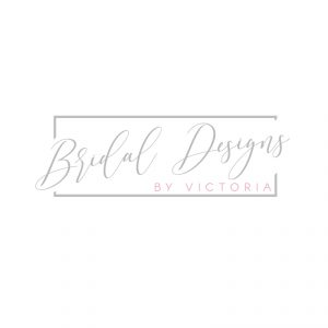 Bridal Logo in Grey & Pink