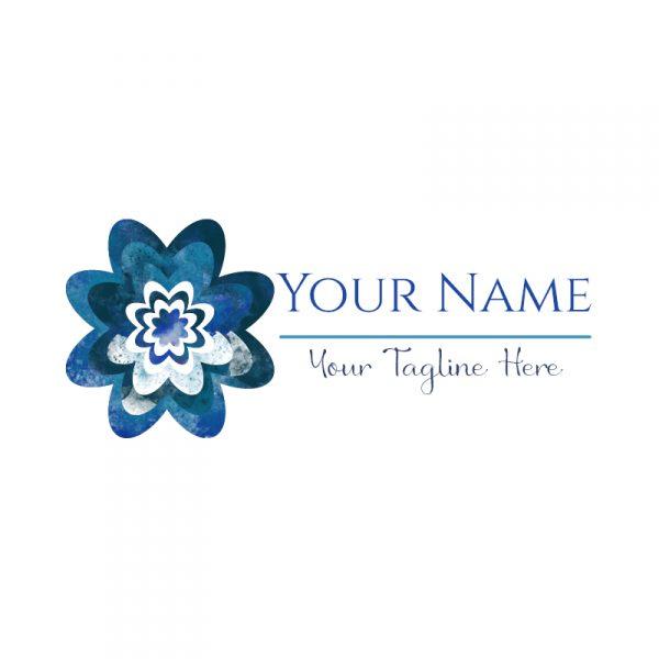 Watercolour Flower Logo