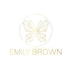Geometric Butterfly Logo
