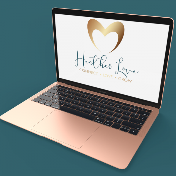 Heart Gold Logo on Mac