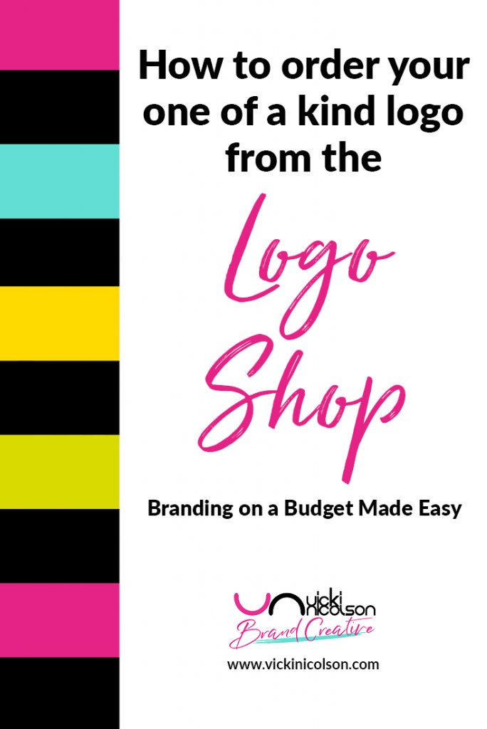 How to order your one of a kind logo