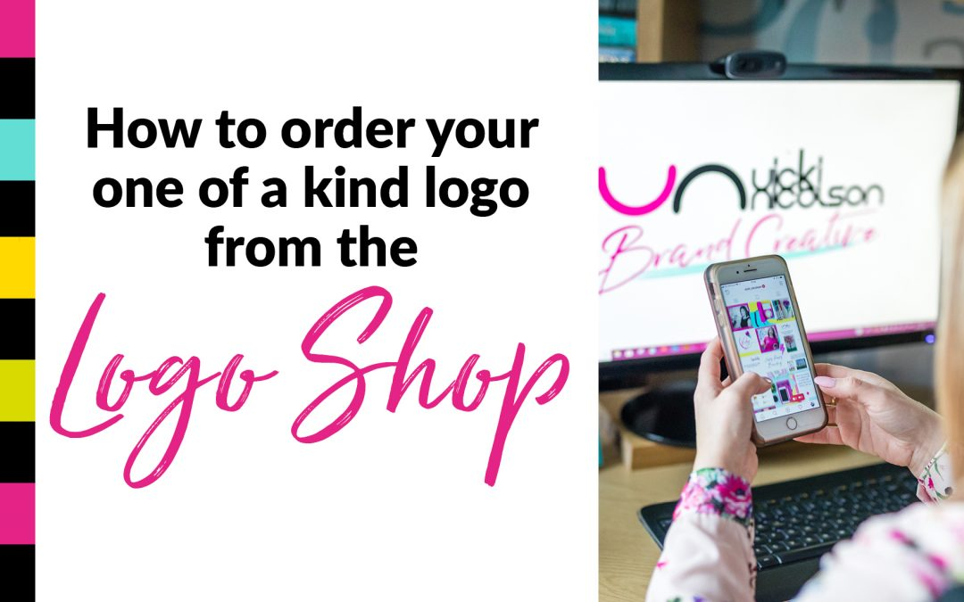 How to order your one of kind logo