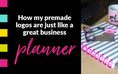 How my premade logos are just like a business planner