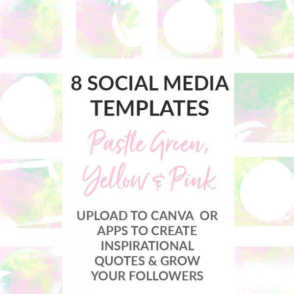 Pastel Social Media Posts