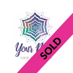 Mandala Watercolour Small Business Logo
