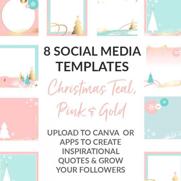 Social Media Templates Christmas