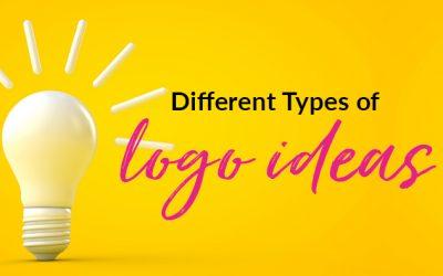 3 Different Types of Logo Design Ideas