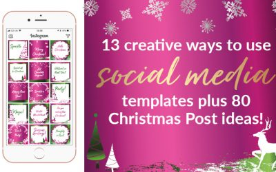 13 Creative Ways To Use Social Media Templates Plus 80 Christmas Post Ideas