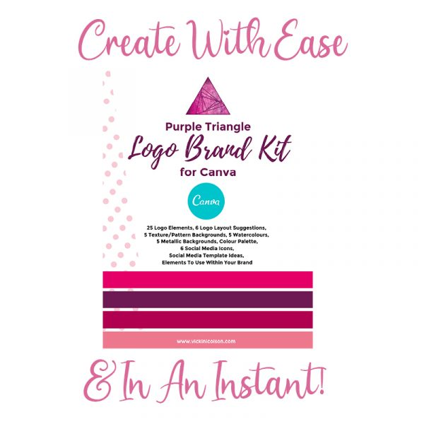 Canva logo and branding kit