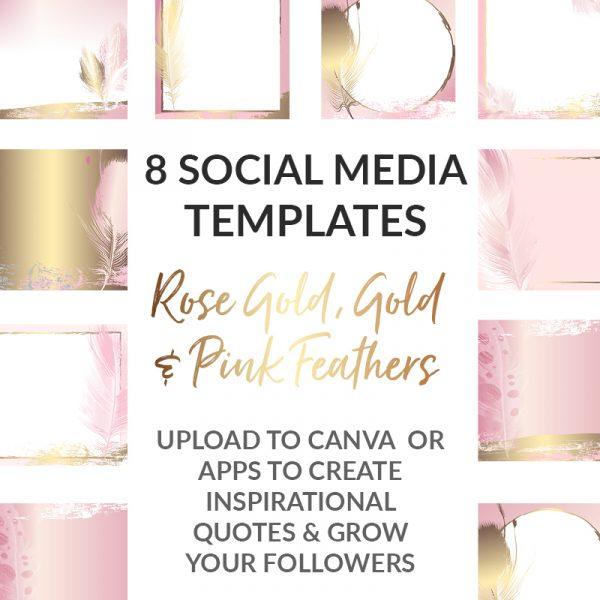 Gold Social Media Templates