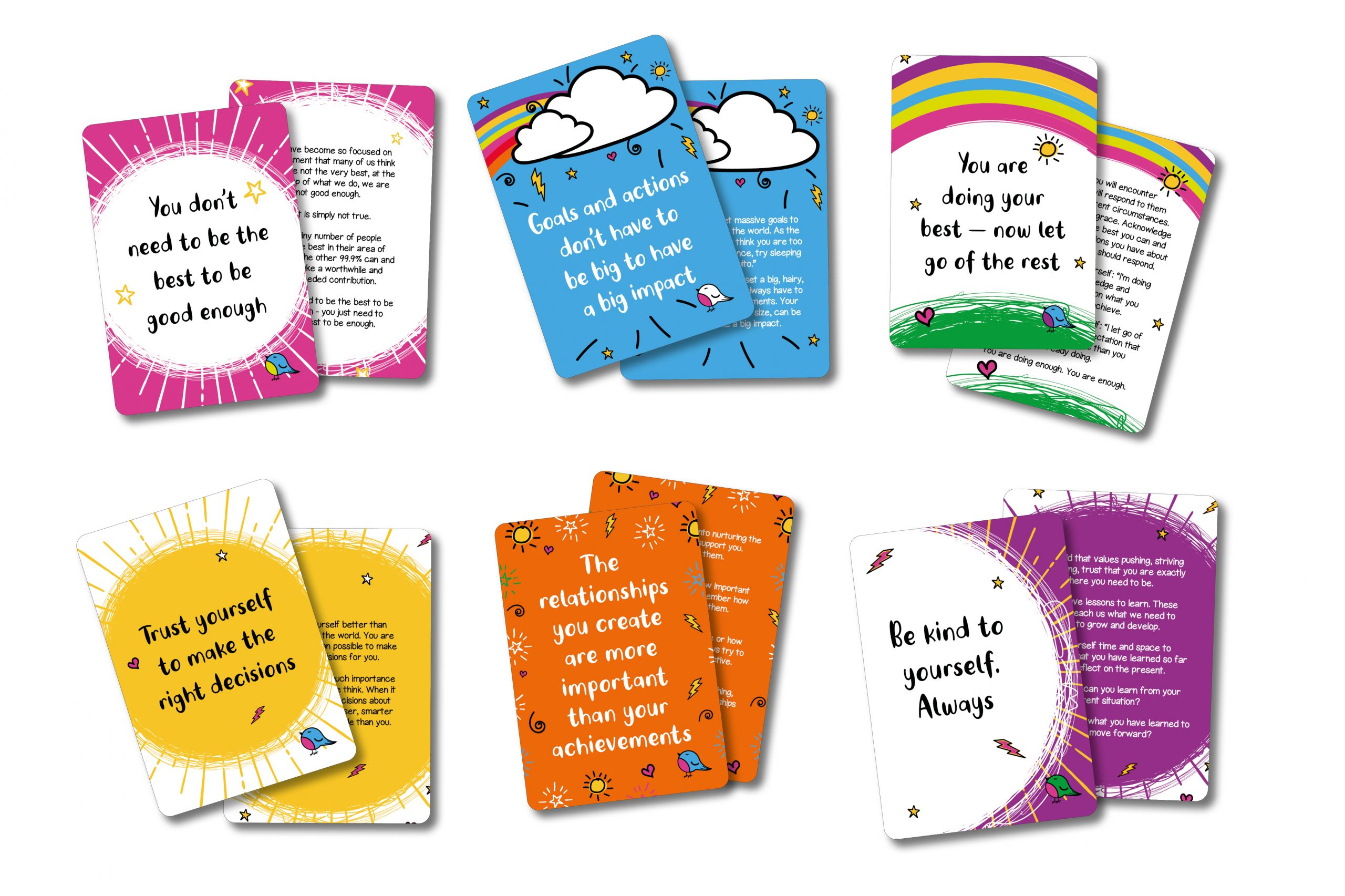 create your own affirmation cards