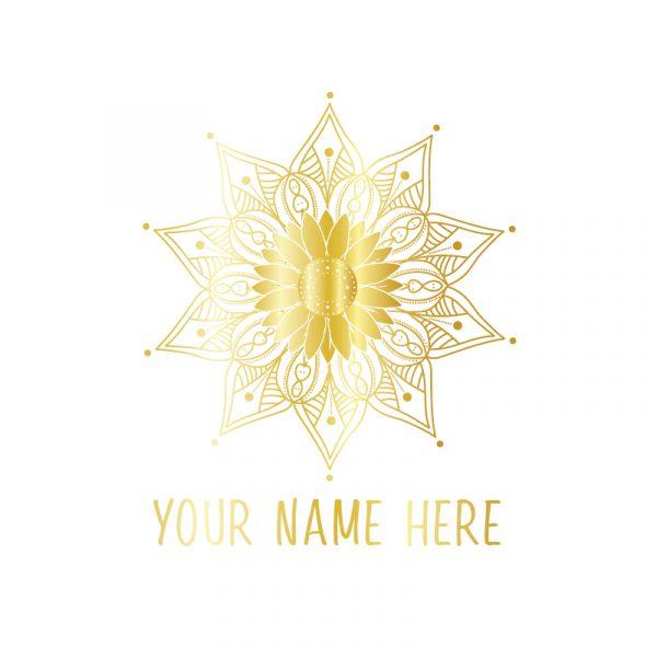 gold manadala logo