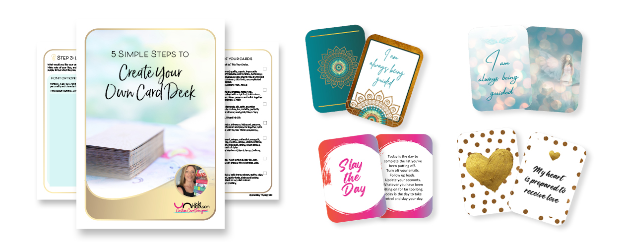 Five Simple Steps to Create Your Own Card Deck